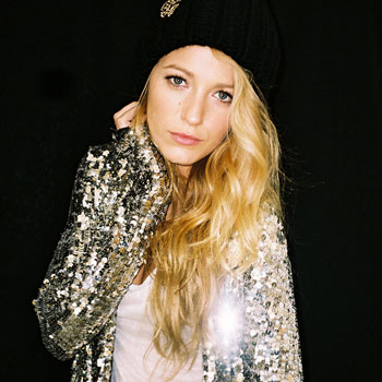Blake Lively Magazine on Blake Lively For Nylon Magazine